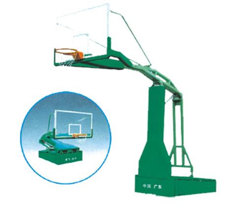 龙岗社区手动液压篮球架安装宝安篮球架厂家 详细资料图片